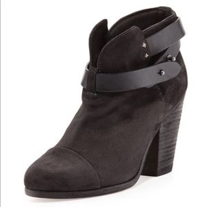 rag & bone Harrow booties in dark grey sz 39